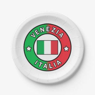 Venezia Italien Pappteller