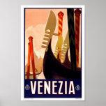 Venezia Venedig Italien Vintage Reise Plakatdrucke