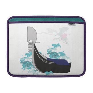 Venezianische Gondel MacBook Sleeve