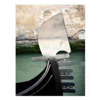 Venezianische Gondel-Postkarte Postkarten