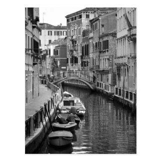 Venezianische Kanal-Postkarte Postkarte