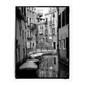 Venezianische Kanal-Postkarte