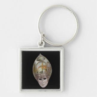 Venezianische Maske Schlüsselanhänger