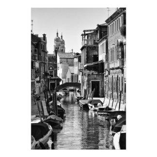 Venezianischer Kanal - Fotodruck