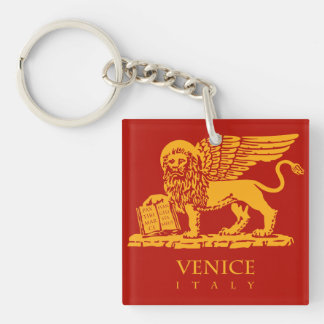 Venezianischer Löwe Schlüsselanhänger