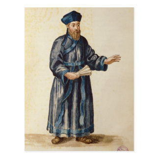 Venezianischer Missionar in der China Postkarten