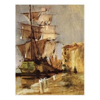 Venezianisches Segeln-Schiff John Henry Twachtman- Postkarten