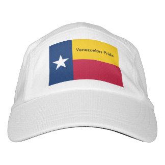 Venezolaner-Texas-Flaggen-Leistungs-Hut Headsweats Kappe