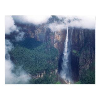 Venezuela, der Salto Angel, Canaima Nationalpark Postkarten