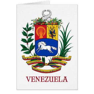 VENEZUELA - Emblem/Wappen/Flagge/Symbol Karte