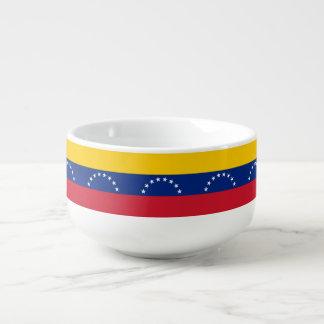 Venezuela-Flagge Große Suppentasse
