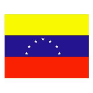 Venezuela-Flagge Postkarte