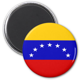 Venezuela-Flagge Runder Magnet 5,1 Cm