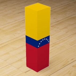 Venezuela-Flagge Weinbox