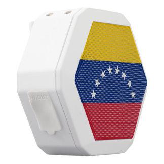 Venezuela-Flagge Weiße Bluetooth Lautsprecher