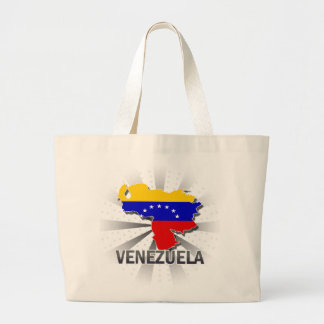 Venezuela-Flaggen-Karte 2,0 Tragetasche