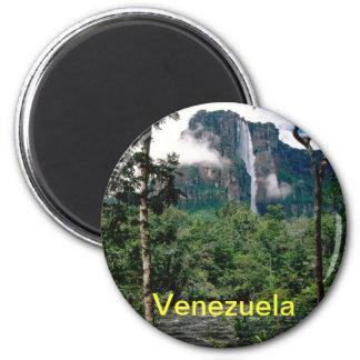 Venezuela-Magnet Runder Magnet 5,1 Cm