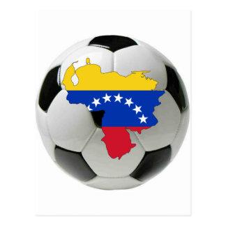 Venezuela-Nationalmannschaft Postkarte