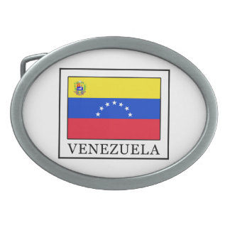 Venezuela Ovale Gürtelschnalle