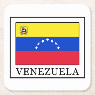 Venezuela Rechteckiger Pappuntersetzer