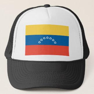 Venezuela recyceln Flagge Truckerkappe