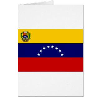 Venezuela-Staats-Flagge Karte