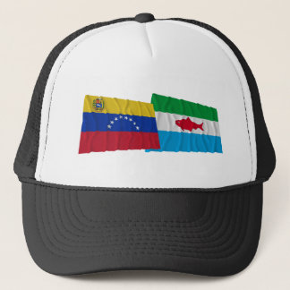 Venezuela und Dependencias Federales wellenartig Truckerkappe