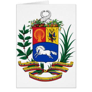 Venezuela-Wappen Karte