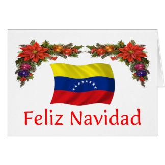 Venezuela-Weihnachten Karte