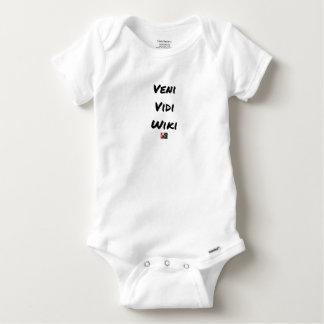 VENI VIDI WIKI - Wortspiele - Francois Ville Baby Strampler