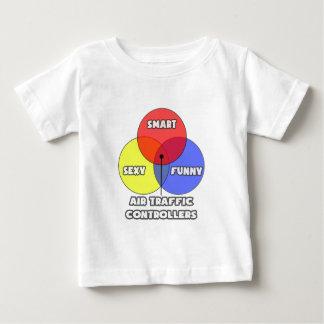 Venn Diagramm. Fluglotsen Baby T-shirt