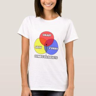 Venn Diagramm. Gynäkologen T-Shirt
