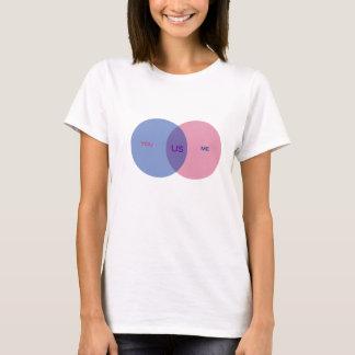 Venn Diagramm-T - Shirt