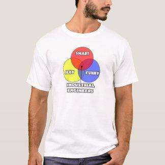 Venn Diagramm. Wirtschaftsingenieure T-Shirt