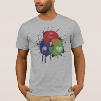 Venn Diagrammtrifecta-T-Stück T-Shirt