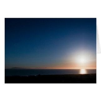 Ventura-Sonnenuntergang Karte
