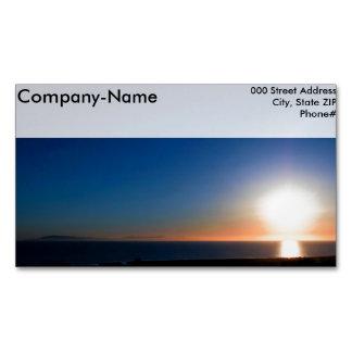 Ventura-Sonnenuntergang Magnetische Visitenkarten