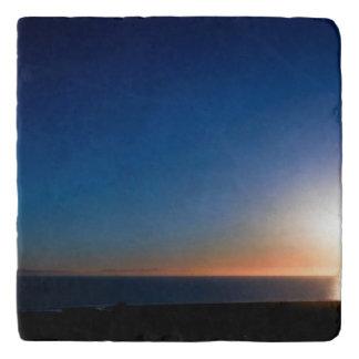 Ventura-Sonnenuntergang Töpfeuntersetzer