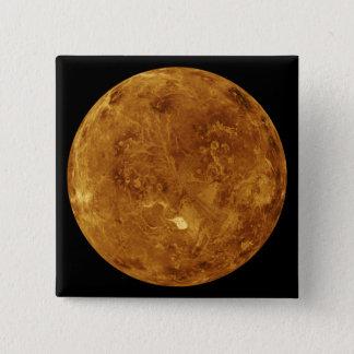 Venus 2 quadratischer button 5,1 cm