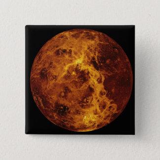 Venus 3 quadratischer button 5,1 cm