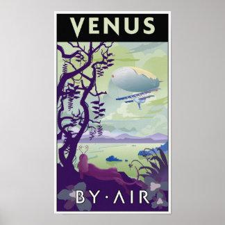 Venus auf dem Luftweg Poster