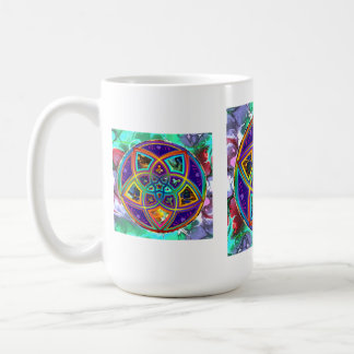 Venus-Blume des Liebe-schöne Künste Blumen-Powers Kaffee Haferl