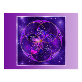 Venus-Blume von Liebe-schöne Künste Universum Postkarten