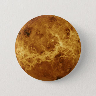 Venus-Planeten-Foto Runder Button 5,7 Cm