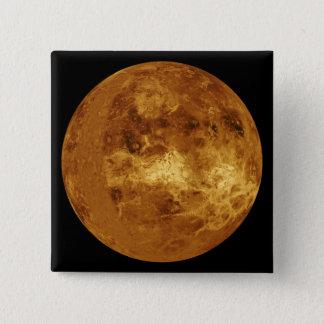 Venus Quadratischer Button 5,1 Cm