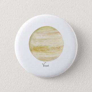 Venus Runder Button 5,7 Cm