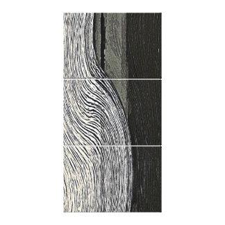 Venus-Strom-Triptychon Leinwanddruck