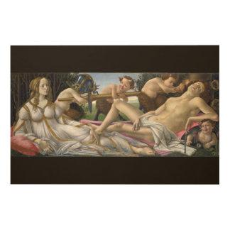 Venus und Mars durch Sandro Botticelli Holzdruck
