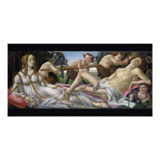 Venus und Mars durch Sandro Botticelli Poster