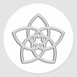 Venusblume - Blume der Liebe Runder Aufkleber